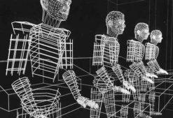 Original Wireframe: 1988 Musique Non Stop created artwork.