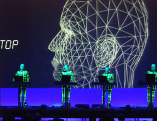 Kraftwerk Stage Visuals